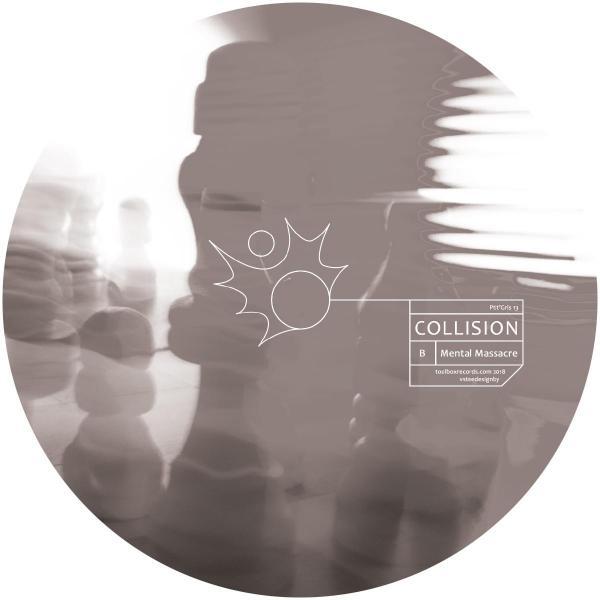 4e369835aaf1 Collision - Ptit Gris 13  clear   black mixed vinyl